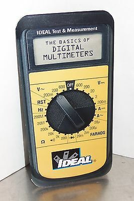 Ideal - The Basics of Digital Multimeters - Manual Instruction Book Guide ONLY