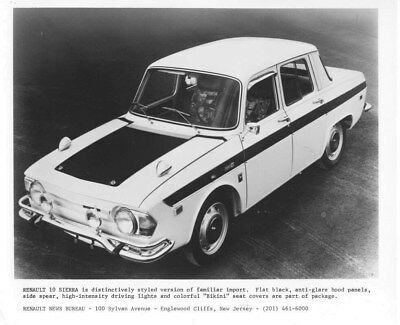 1970 Renault 10 Sierra ORIGINAL Factory Photo oua2098