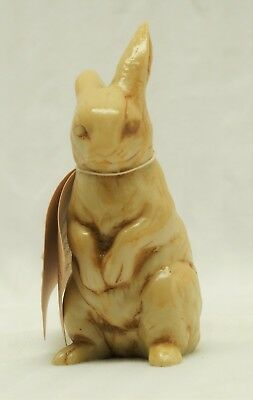 Carved Marble Rabbit Figurine w/ tag - Limited Edition Georgia