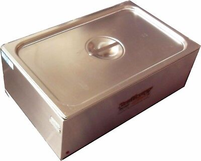Stainless Steel Paraffin Bath 18Lbs Capacity 240V Para Therapy Whitehall PT-18-S