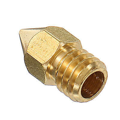 5Pcs 175Mm 04Mm Copper Zortrax M200 Nozzle For 3D Printer
