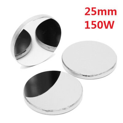 3Pcs 25Mm Mo Mirrors Molybdenum Co2 Laser Reflector For 150W Cutter Engraver
