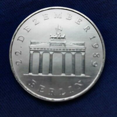 20 Mark DDR Gedenkmünze Brandenburger Tor Silber