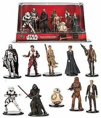 STAR WARS The Force Awakens Loose Figurines Disney  Rey BB-8, Finn Poe Phasma