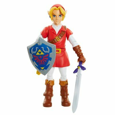 World of Nintendo Legend of Zelda: Ocarina of Time Link in Goron Tunic Figure