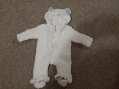 SALE Girls/Boys  Padded Pram/Snowsuit Age Newborn And 0/3 Months