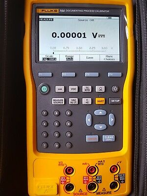 Fluke 754 Documenting Process Calibrator With Hart Communicator.2017 Model. New