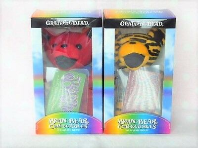 Grateful Dead Bertha Samson Dead Bear Bean Bear Collectible Plush Doll Set F/S
