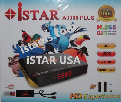 The Latest Model of iSTAR Zeed 4 OTT Receiver with 1 year Free OnlineTV code