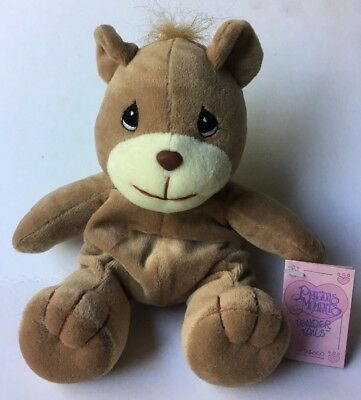 Precious Moments Tender Tails Bear Plush New With Tags