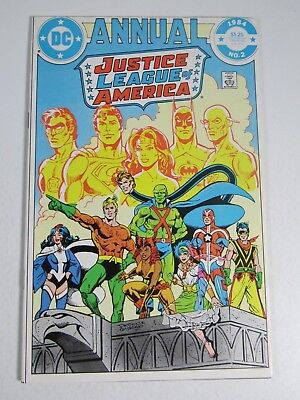 Justice League of America Annual #2 (DC Comics 1984) 1st Appearance Vibe FN