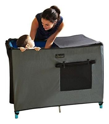SnoozeShade Portable Blackout Blind and Canopy for Travel Cots