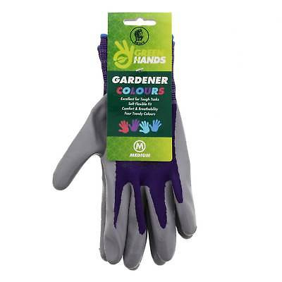 Gloves Showa 370 Mixed Colour Medium Nitrile Gloves Gardening Protection