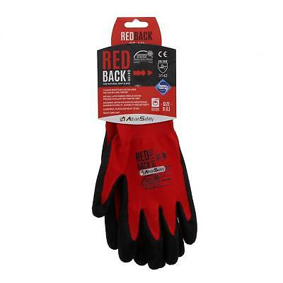 Large Ninja Flex (Redback) Gloves High Grade Abrasion Resistance Breathable