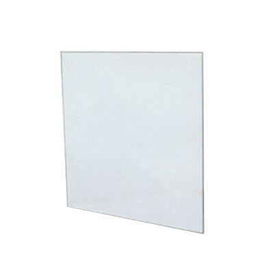 """12""""x12"""" Clear Tempered Glass Shelf Panel - Set of 4 or 5"""