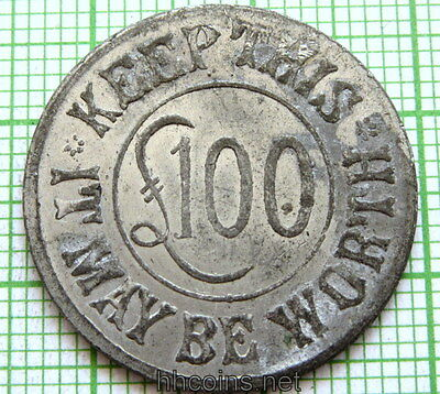Weekly Telegraph £100 Lottery Token, Numbered - Keep This It May Be Worth £100