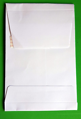C6 White Gusset Envelopes (10) 120gsm - New