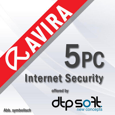 Avira Internet Security Suite 5 PC 2020 VOLLVERSION 5 GERÄTE 2019 DE