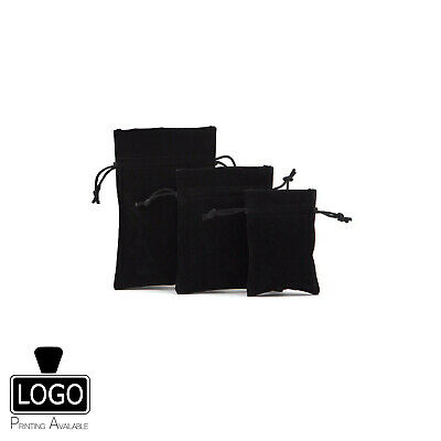 Deluxe Velvet Jewellery Gift Pouches (Various Sizes & Colours)