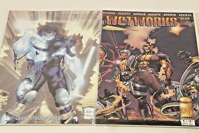 Wetworks Comics - No  1  2  3 Wildworks Comic Books Wet Works Book 1993-1994