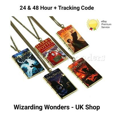 Harry Potter Book Necklace 14 Designs Gift