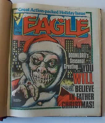 Eagle Comics - Bound Volume 9 - CHRISTMAS ISSUE DEC 24 1983 to MAR 10 1984