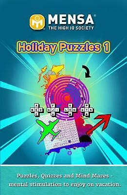 Mensa Holiday Puzzles (Paperback) New Book