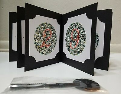 ISHIHARA TEST BOOK 38 Plates for Color Blindness Eye Testing with ...