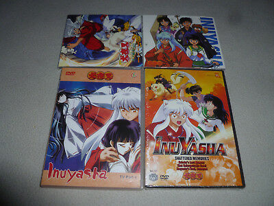 Inuyasha Dvd Cd Lot Movie Soundtrack Best Album Tv Part 8 Shattered Memories Viz