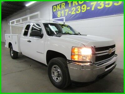 2008 Chevrolet Silverado 2500 Extended Cab Utility Bed Work Truck 2008 Chevy 2500 X Cab V8 Service Contractor Utility Bed Ladder Rack
