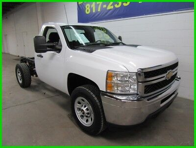 2012 Chevrolet Silverado 3500 Chassis Regular Cab V8 Work Truck Beds Available 2012 Chevy 3500 Reg Cab Chassis V8 Flatbed Utility Bed Available
