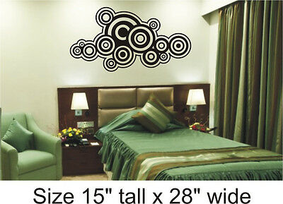 Wall Vinyl Stickers Decal Removable  Bed Room Drawing Room Home Decor FAC - 01