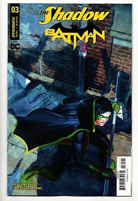The Shadow Batman #3 - Cover B (DC/Dynamite, 2018) - New/Unread (NM)