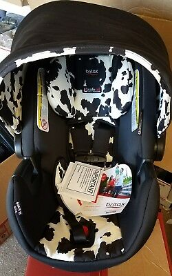 New Britax B-Safe 35 Elite Infant Car Seat - Cowmooflage Model:75A770A7