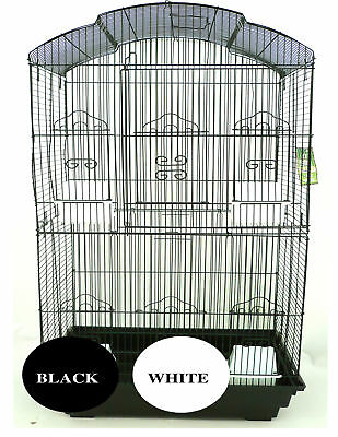 Pet Bird Cage Parrot Aviary Canary Budgie Finch Perch Portable w/Perches  90cm H