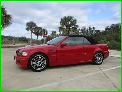 2002 BMW M3 Base Convertible 2-Door 2002 BMW M3 SMG MANUAL CONVERTIBLE SALVAGE CLEAN LOW MILES NO RESERVE
