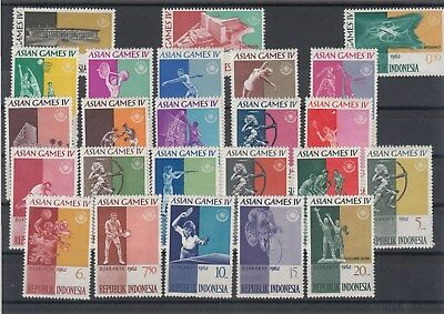 Indonesia: 1962 4th Asian games: DJAKARTA. SG903/926. MUH. Going cheap