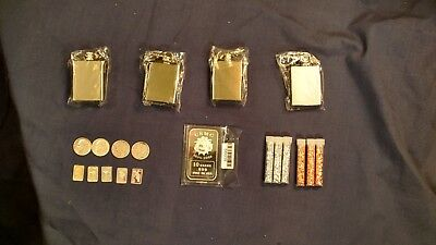 Silver Survivalist Lot. Silver Bars. Silver Coins. Silver and Copper Flakes USMC