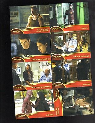 The Flash season 1   24 Gold Logo parallel cards