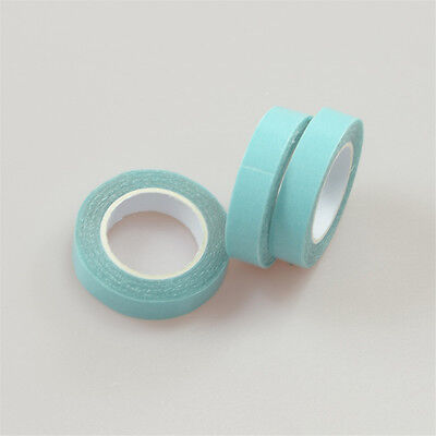One Roll 3m Long Strong Double Side Adhesive Blue Tape for Hair Extensions DIY K