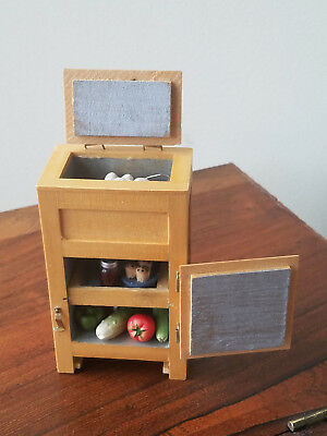 Vintage Set of 11 Various Doll House Furniture And Accessories