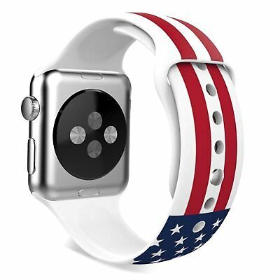 AMERICAN FLAG New Wristband Band Strap Accessories For iWatch 42MM APPLE WATCH