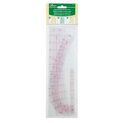 Clover Curve Ruler with Mini Ruler for pattern drafting # 7006