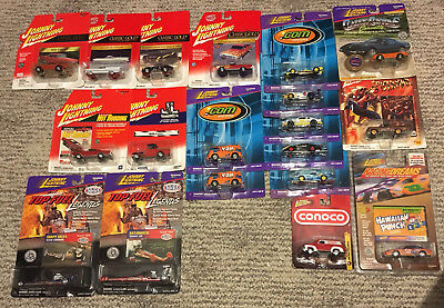Johnny Lightning Classic Gold, .com Racers, Hot Rods, The Challengers, Monopoly