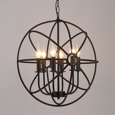 r tro industriel lampe suspension plafonnier lustre luminaire d cor clairage eur 24 50. Black Bedroom Furniture Sets. Home Design Ideas