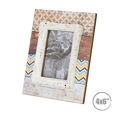 Photo Frame Wooden Modern Vintage Stone Rustic Farmhouse Country Timber Chic
