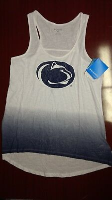 370fe9f47f3dc COLUMBIA PENN STATE Nittany Lions Women s Medium Breezy Tank Top ...