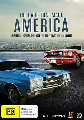 The Cars That Made America - DVD Region 4 Free Shipping!