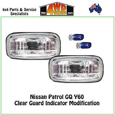 Clear Guard Indicator Modification Upgrade suits Nissan Patrol GQ
