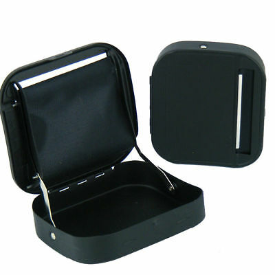Black Automatic Rolling Machine Roller Tin Box Metal Cigarette Tobacco Roll Up